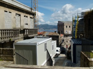 A typical view once tucked inside Vigo.